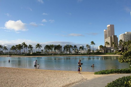 Grand Waikikian by Hilton Grand Vacations:                   Lagoon