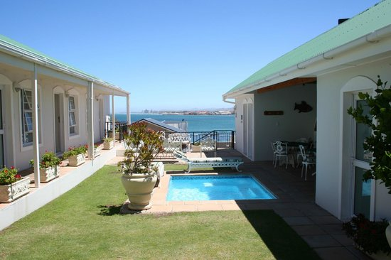 Gordon's Beach Lodge:                   View from Room 5