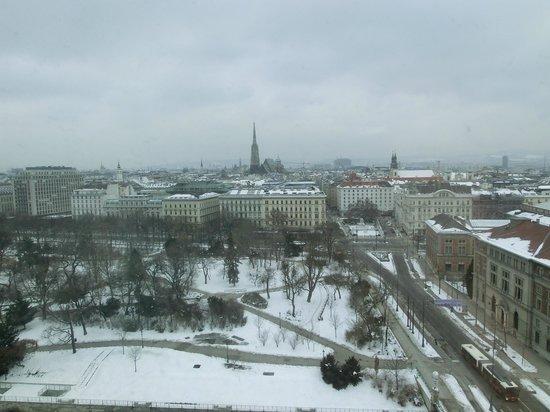 Hilton Vienna:                   vista