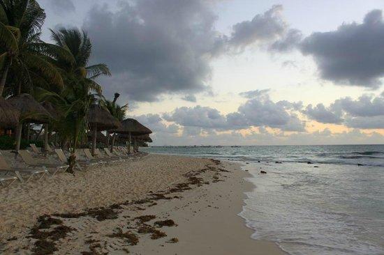 Mahekal Beach Resort:                   Пляж на рассвете