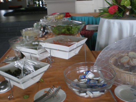 Pearle Beach Resort & Spa:                   buffet de l'hotel