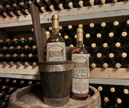 Agriturismo La Pietriccia: slurp.................robba bona!!