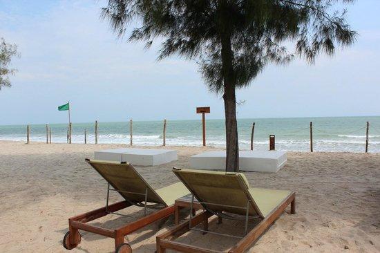Hotel So Sofitel Hua Hin:                   By The Beach