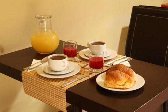 Hotel Boutique Nazionale: Alla mattina niente di meglio di un'ottima colazione per poter affrontare una giornata di visita