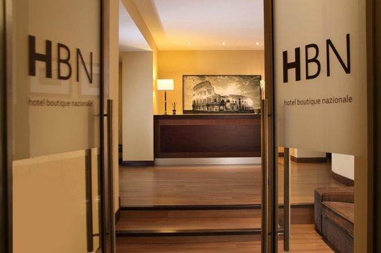 Hotel Boutique Nazionale: Lasciateci rendere la vostra permanenza a Roma una vacanza indimenticabile