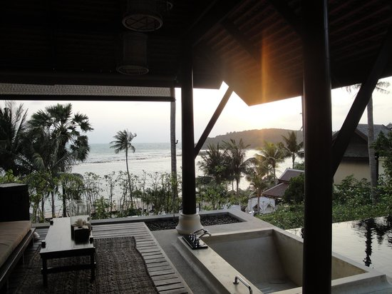 Anantara Lawana Koh Samui Resort:                   View from room 109