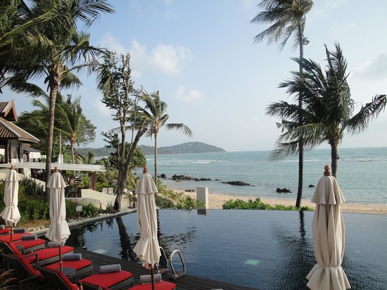 Anantara Lawana Koh Samui Resort:                   Pool view
