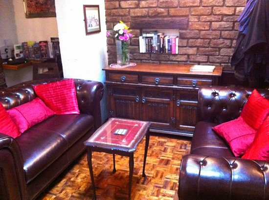 Minster Walk Accommodation:                   cosy seating area