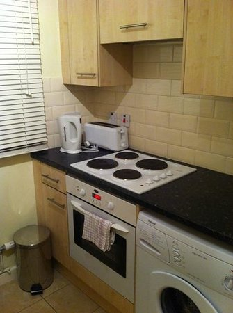 London City Hotel:                   Cocina