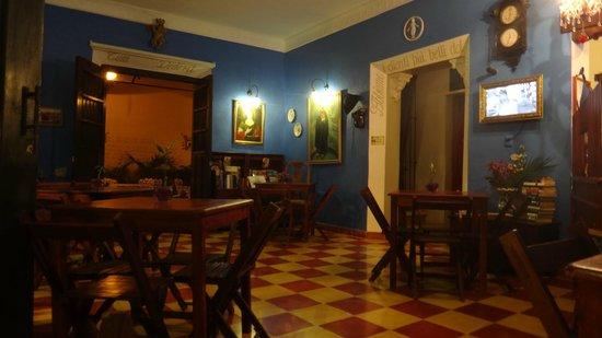 Casa Italia :                   intérieur