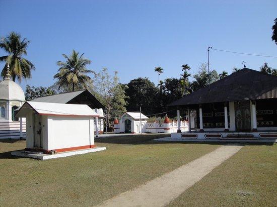 Barpeta, India:                   Ganakkuchi Satra namghar