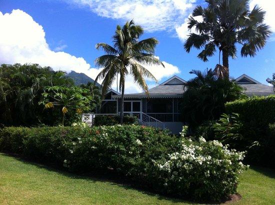 Four Seasons Resort Nevis, West Indies:                   Villa