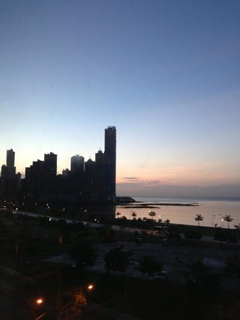 Easy Travel Panama - Day Tours:                   view from hotel in PC