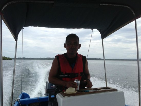 Casa Cayuco:                   Heading back to Bocas Town with Sabastian