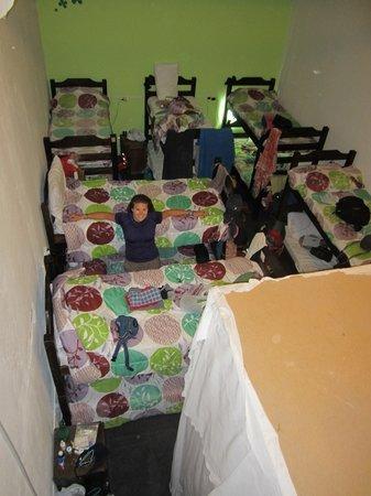 Live Mvd Hostel :                   12-person dorm is a little cramped