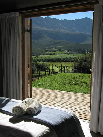 Swartberg Country Manor: View from the Bakery Cottage