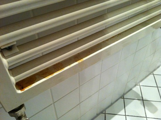 Aparthotel Residenz 2000 :                   kaloryfer w łazience