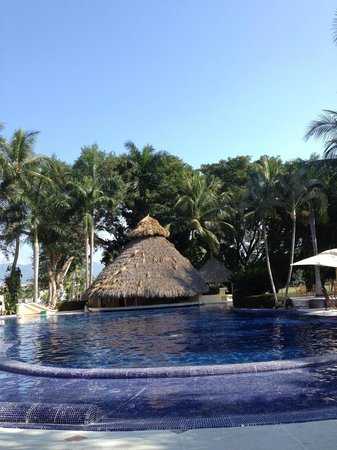 Casa Velas:                   Pool area