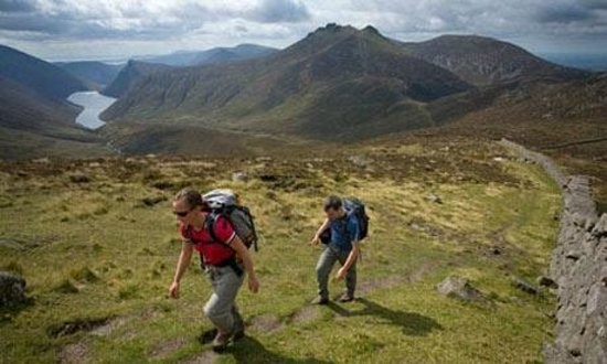 Life Adventure Centre: Walking in the Mournes