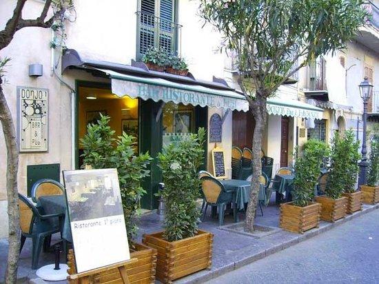 B & B Castelbuono Donjon: Ingresso ristorante