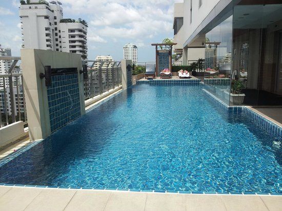 Adelphi Suites Bangkok:                   The Rooftop Pool