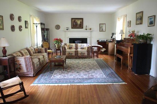 Enfield House B & B : living room