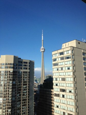 The Westin Harbour Castle, Toronto:                   View from Room
