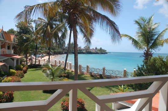 Coco Reef Tobago:                   View from the roon