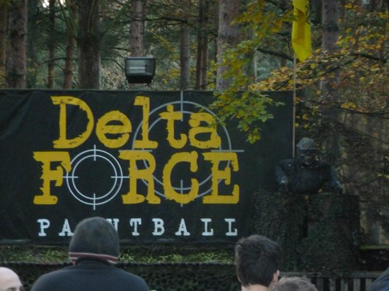 Delta Force Paintball Southampton:                   Feel the Force!