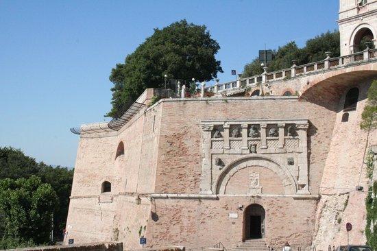 Perugia, Italy: porta marzia