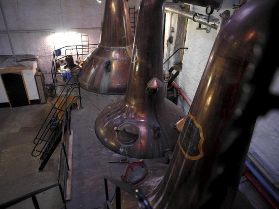 Springbank Distillery: The stills