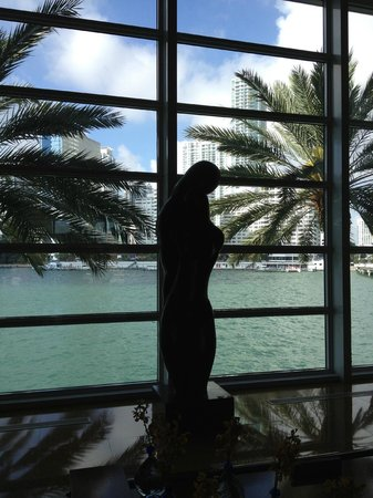 Mandarin Oriental, Miami:                   main lobby