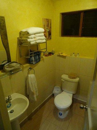 Hotel Los Balcones:                   Buena limpieza en los baños.