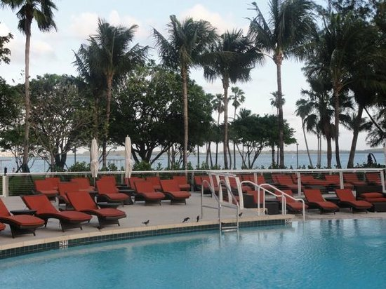 Mandarin Oriental, Miami:                   pool area
