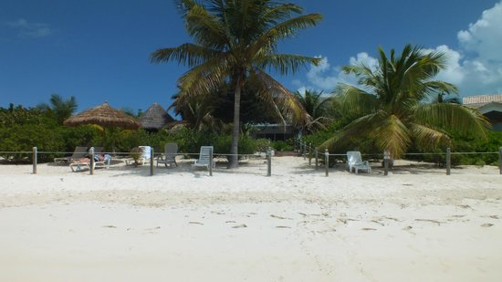 Crystal Sands Villa on the Beach:                   Private beach area