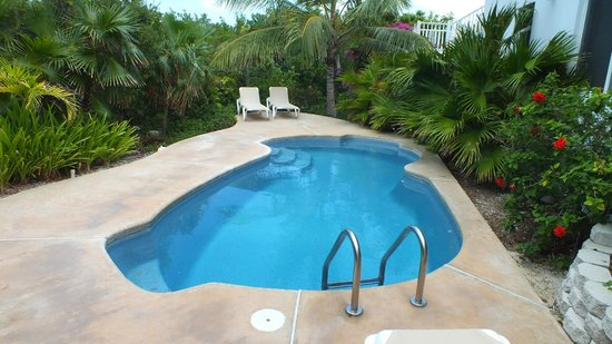 Crystal Sands Villa on the Beach:                   Private pool