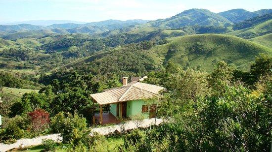 Pousada Quinta da Serra: Vista chalé