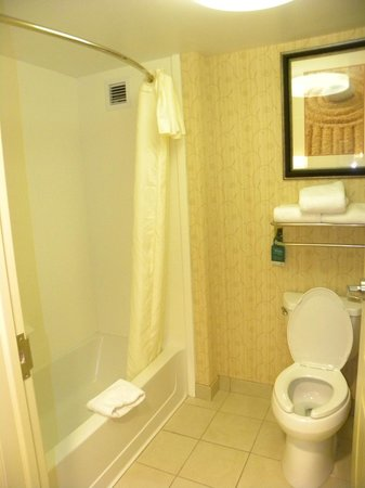 Homewood Suites Rochester/Greece:                   Bathrooom