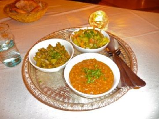 The home made meals at Riad Flam are highly recomended