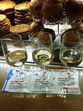 Surdyk's Flights:                   Riesling Flight