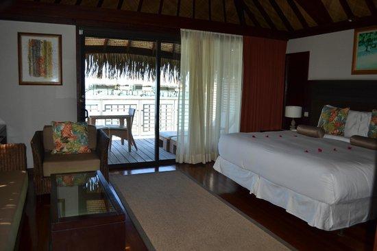 Hilton Moorea Lagoon Resort & Spa:                   LA HABITACION