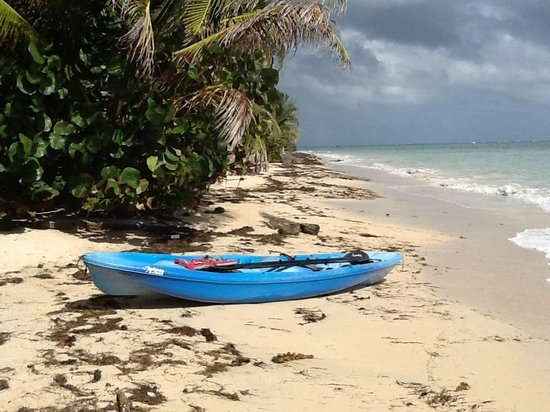 Little Corn Beach and Bungalow:                   kayak for rent