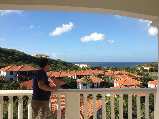 Blue Bay Curacao:                   Vista desde el Balcón del apartamento/Villa