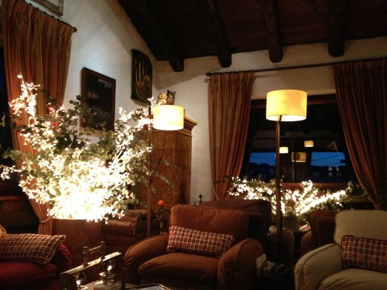 Chalet Il Capricorno Hotel:                   salone St. George