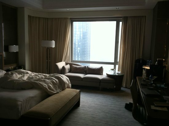 Kerry Hotel Beijing:                   Slightly bigger in executive floor room