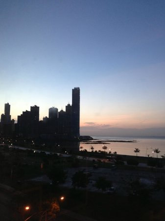 Le Meridien Panama: Morning view from room