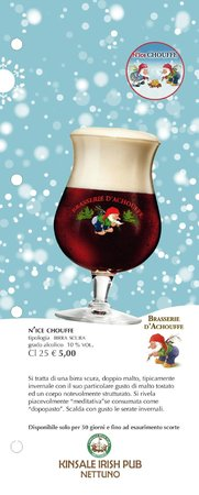 Kinsale Irish Pub: Chouffe 'nice - Birra di Natale