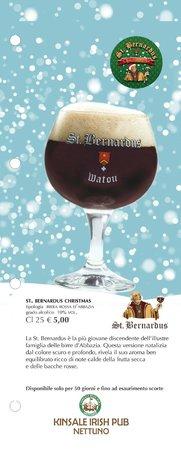 Kinsale Irish Pub: St. Bernardus Christmas - Birra di Natale