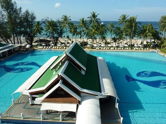 Le Meridien Phuket Beach Resort:                   Vue d'une chambre
