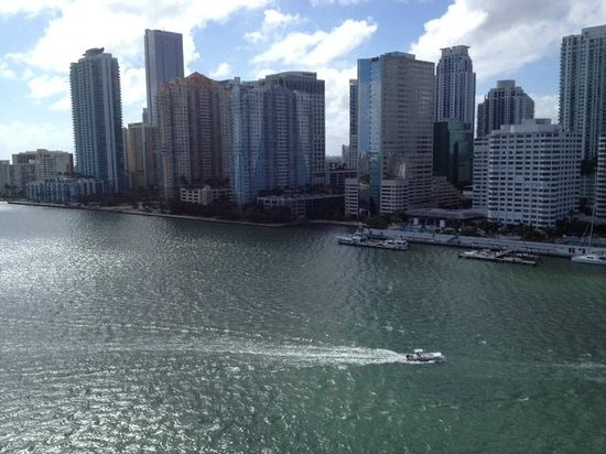 Mandarin Oriental, Miami:                   view from hotel room